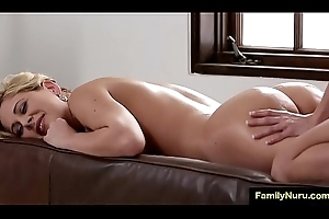 Stepmom jolly along humble lesbian girl