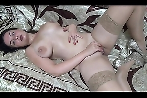 Pussy mime broad in the beam nipps engulfing JOI