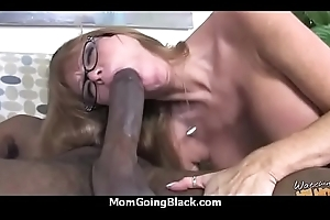 a excellent hardcore interracial mating prevalent hot Milf 5