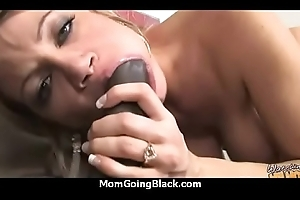 My Mama Shows How in the world Far This babe d Pay off A Big Raven Cock 11