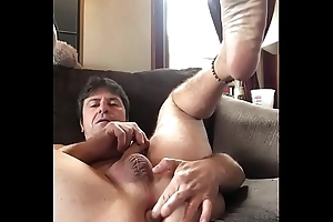 Gapping my ass with my sister&rsquo_s sex-toy