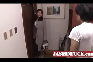 japanese hawt mammy increased by son fucking-full videotape www.JASMINFUCK.com