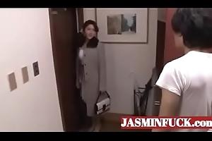 japanese hawt mammy increased by son fucking-full videotape www.JASMINFUCK.com