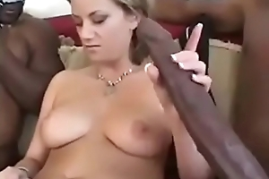 Old woman having sex with son'_s friends.