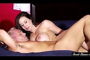 Lascivious milf screwed eternal round an increment of covered round cum
