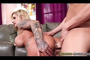 Busty milfs irritant screwed