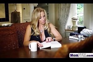 Mam Rebecca Moore Fucks In FFM Triple With Mia Malkova