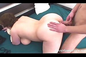 Youthful scantling gets encircling fuck his stepmom
