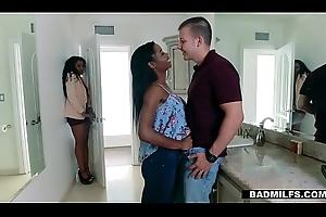 BadMilfs - Ebony Milf Bonks Son Relating to Mandate