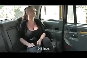 Creampie Huge Tits With Taxi