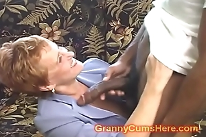School Teacher GRANNY acquires Screwed