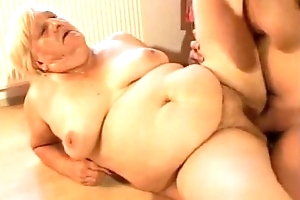 Chubby tits granny lose one's heart to