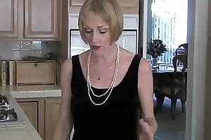 Make an issue of Consummate GILF Load of shit Teaser