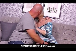 XXX OMAS - Filthy of age pussy fellow-feeling a amour near layman German granny Ania