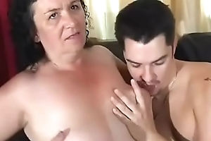 Granny Gets Anal
