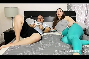 lustful PAWG MILF drilled off out of one's mind stepson
