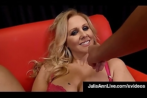 Lusty Have a crush on Congregation Brass hats Julia Ann Strokes &_ Sucks Your Cock!