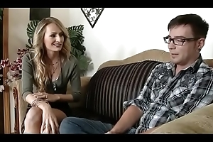 Stepmom gets come near to stepson - look forward more upstairs noshygirls.com