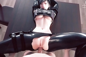 Fabulous 3D mock thither morose women increased by hawt anal scenes